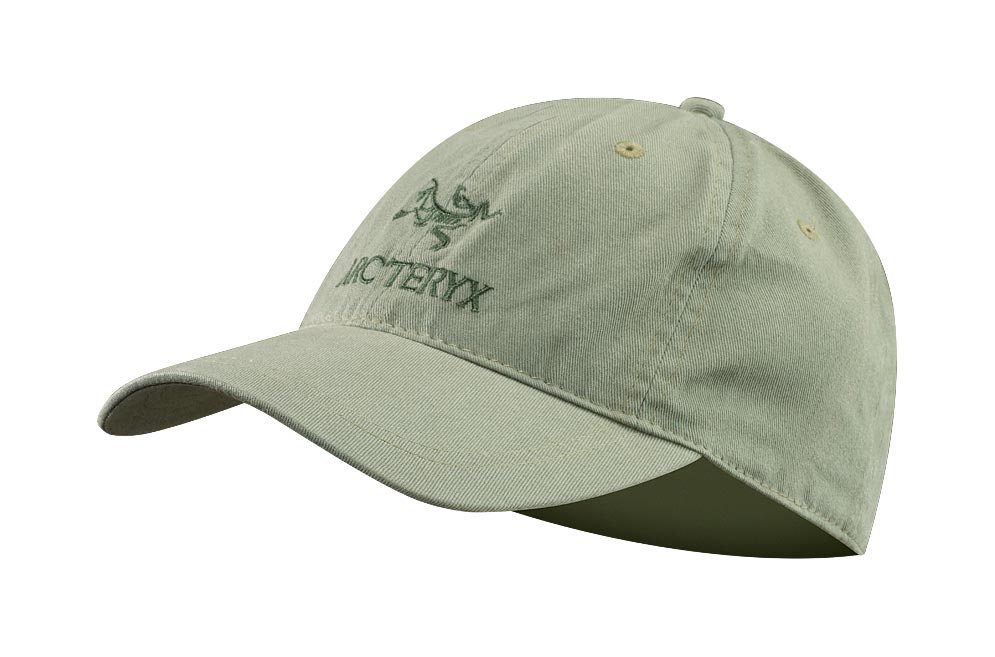Arcteryx Silver Sage Embroidered Bird/Word Cap